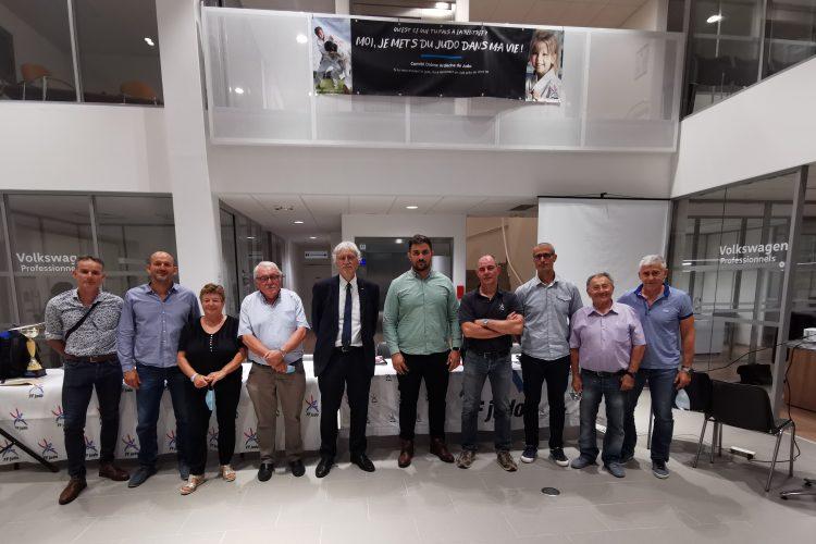 Comité de la Drôme-Ardèche de Judo Jujitsu et D.A : Ludovic PETIT élu président