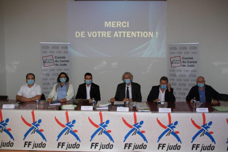 Comité du Cantal de Judo Jujitsu et D.A: Romain JAMMET a été élu président