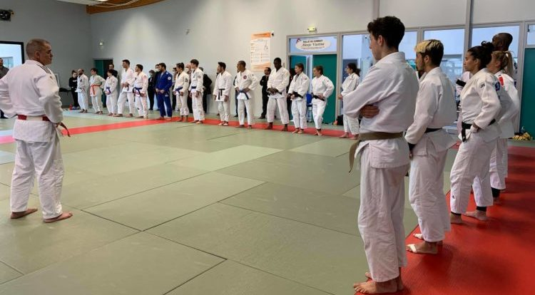 Stage de Jujitsu pour les qualifiés de la Ligue AURA aux championnats de France de Jujitsu
