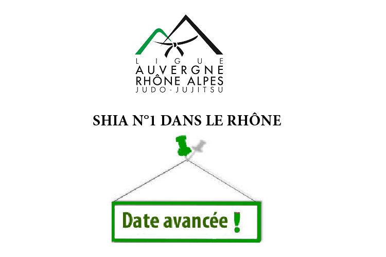 SHIA n°1 dans le Rhône: Changement du lieu et de la date