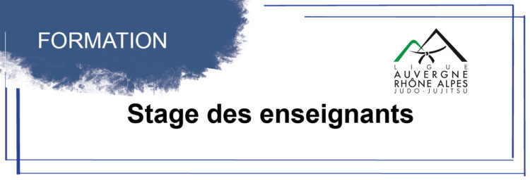 Planning de stage exclusivement réservé aux enseignants