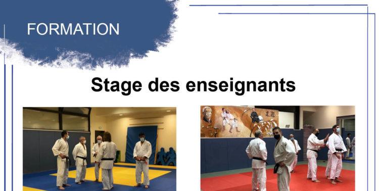 Stage des enseignants dans toute la région Auvergne-Rhône-Alpes