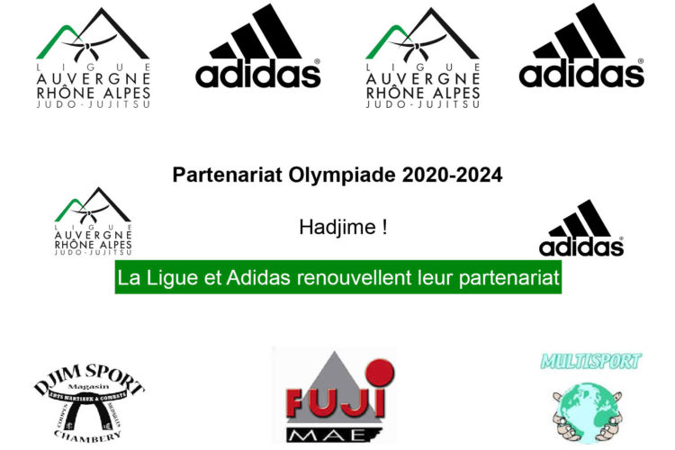 Partenariat Olympiade 2020-2024: la Ligue AURA et Adidas renouvellent leur partenariat