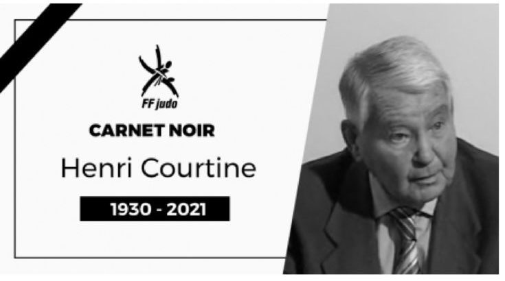 Carnet noir: le Judo français perd un de ses pionniers, Sensei Henri Courtine, unique 10ème dan français à ce jour