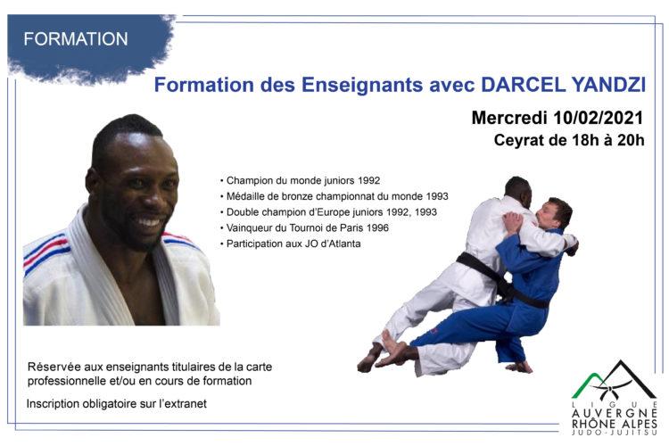 Formation des Enseignants avec DARCEL YANDZI le 10 février à Ceyrat
