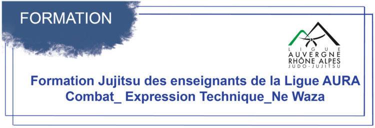 Formation Jujitsu des enseignants de la Ligue AURA  Combat_ Expression Technique_Ne Waza du 13 février
