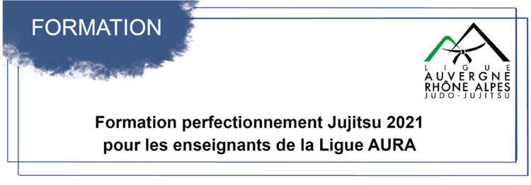 Formation perfectionnement Jujitsu 2021 pour les enseignants de la Ligue AURA