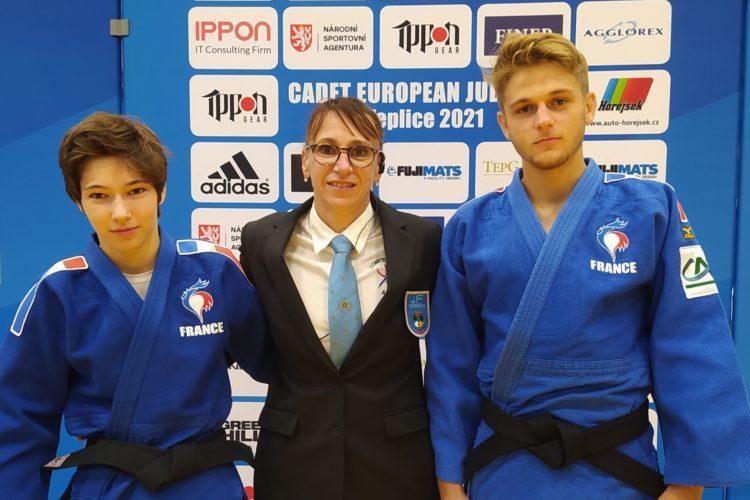 3 jeunes de la ligue AURA médaillés lors de la Coupe d'Europe Cadets/Cadettes