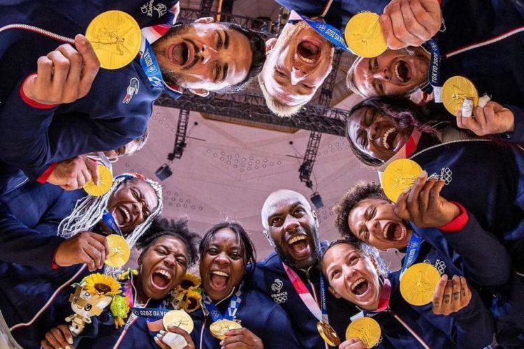Quelle belle équipe de France Judo !!!!!