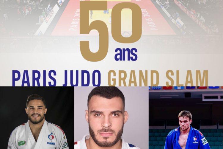 Paris Grand Slam – Judokas originaire de la Ligue AURA sélectionnées