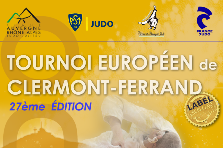 Tournoi Européen Cadet(te)s de Clermont-Ferrand Label Excellence 2021