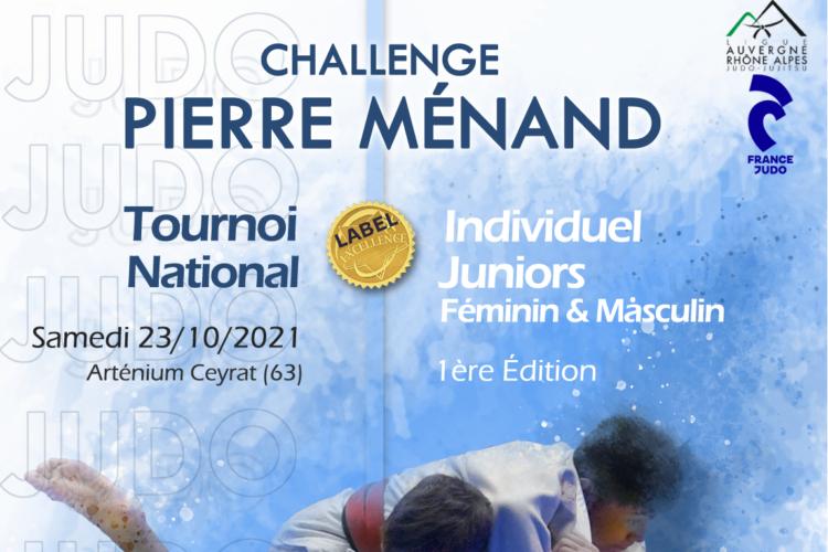 Tournoi national Individuel Junior Challenge Pierre Ménand Label Excellence 2021