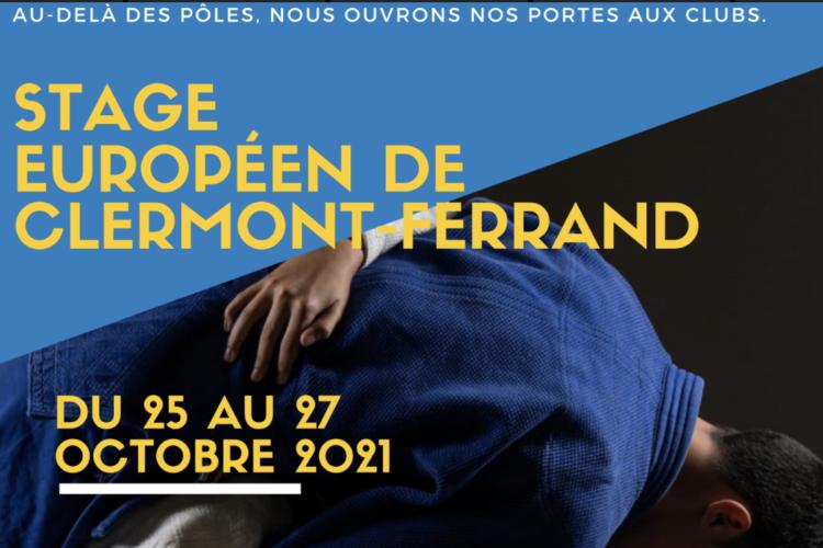 Stage Européen de Clermont-Ferrand : Au-delà des pôles, nous ouvrons nos portes aux clubs – Inscrivez-vous
